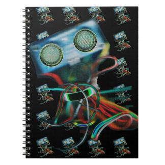 Robot-Inspired Notebook