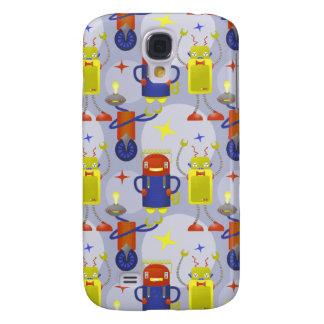 Robot Pattern Galaxy S4 Case