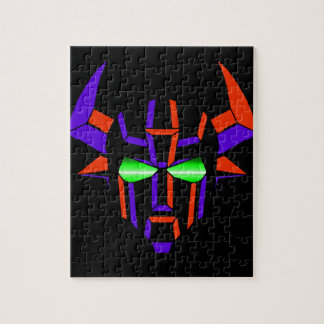 ROBOT RODEO Black Style Jigsaw Puzzle
