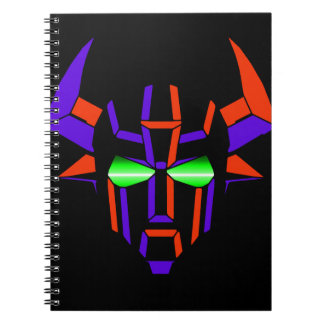 ROBOT RODEO Black Style Notebooks