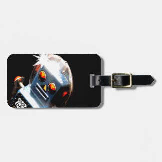 Robot Route 66 Luggage Tag