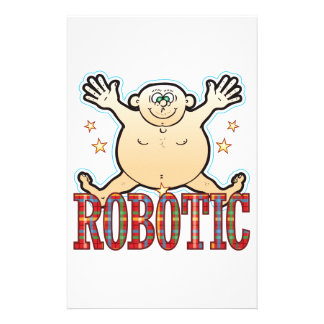 Robotic Fat Man Stationery