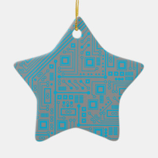 Robotika Circuit Board Christmas Ornament