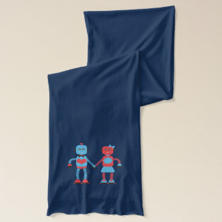 Robots in Love Scarf