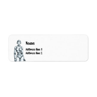 Robots Return Address Label