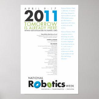 RoboWeek 2011 Poster 11x17