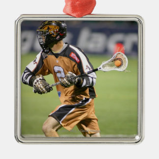ROCHESTER, NY - JUNE 18: Ned Crotty #2 2 Christmas Ornament