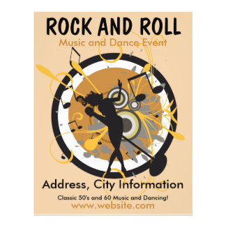Rock and Roll Music Flyer