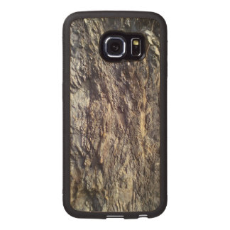 Rock and Stone Wood Phone Case