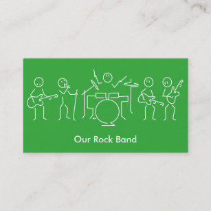 356 rock band business cards and rock band business card templates rock band business card colourmoves