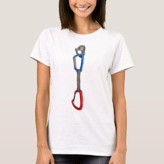 Rock Climbing Carabiner and Hanger T-Shirt