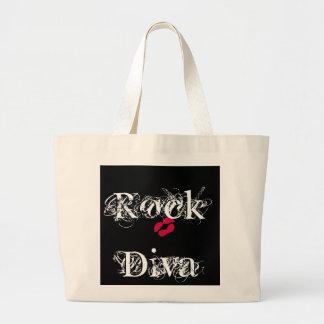 Rock Diva Bag Tote Bags