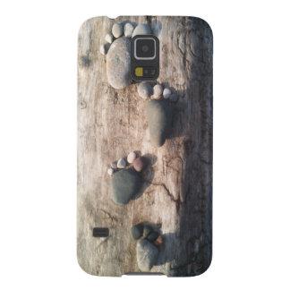 Rock Footprints Galaxy S5 Covers