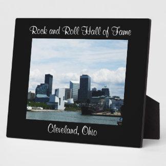 ROCK HALL, CLEVELAND OHIO plaque