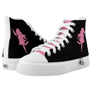 Rock-it-girl pink. Zipz High-Top Shoes Women