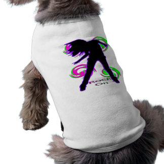 Rock On Girl T-Shirts & Gifts Sleeveless Dog Shirt