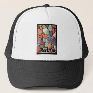 Rock On Multicolored Rocks Trucker Hat