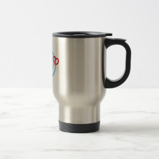 Rock Paper Scissors Stainless Steel Travel Mug