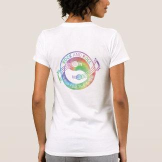 Rock & Roll Yin Yang Guitars T-shirts