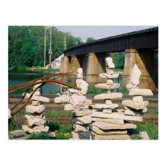 Rock Sculpture Postcard