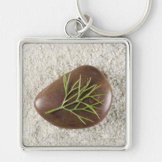 Rock, Seaweed & Sand Premium Keychain