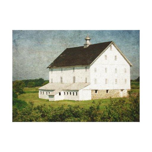 Rock Solid Barn Canvas Print