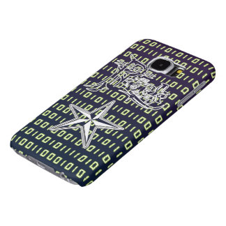 Rock Star Binary Code Galaxy S6 Cases