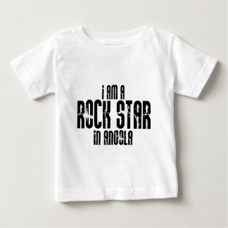 Rock Star In Angola Baby T-Shirt