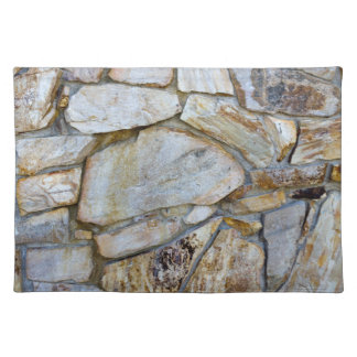 Rock Wall Texture Photo on Placemat