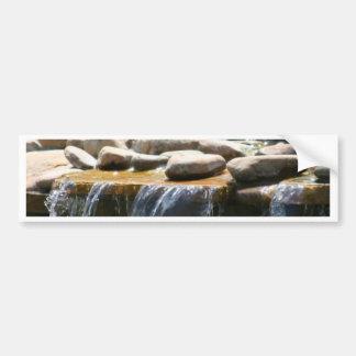 Rock Waterfall Bumper Sticker