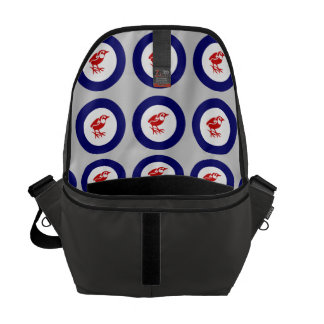 Rock Wren Roundel Courier Bag
