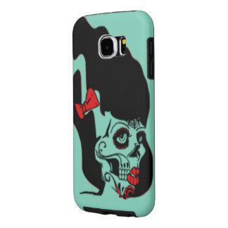 Rockabilly Frankenstein Pinup Samsung Galaxy S6 Cases