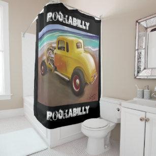 Rockabilly Shower Curtains