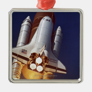 Rocket Launch Christmas Ornament