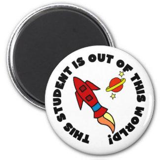 Rocket Student Magnet