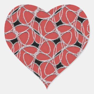 Rockin' Heart Sticker