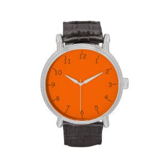Rockin' Orange and Brown Watches