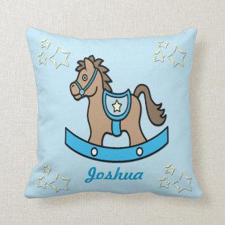 Rocking Horse Baby Keepsake Pillow