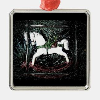 Rocking Horse Christmas Ornament