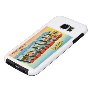 Rockland Maine ME Old Vintage Travel Souvenir Samsung Galaxy S6 Cases