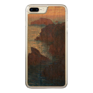 Rocks at Belle-lle, Port-Domois by Claude Monet Carved iPhone 8 Plus/7 Plus Case