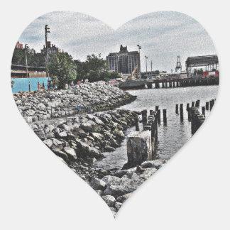 Rocks.jpg Heart Sticker