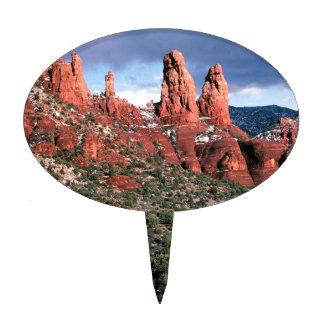 Rocks Red Spires Sedona Arizona Cake Topper