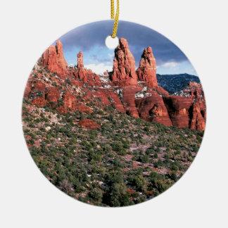 Rocks Red Spires Sedona Arizona Christmas Ornament