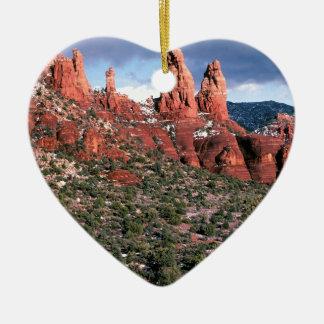 Rocks Red Spires Sedona Arizona Christmas Tree Ornaments