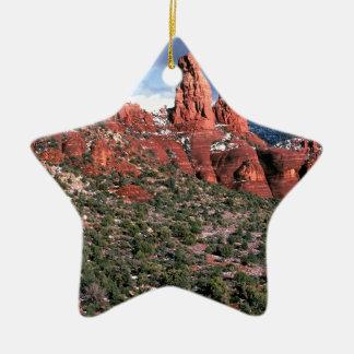 Rocks Red Spires Sedona Arizona Ornaments