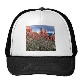 Rocks Red Spires Sedona Arizona Mesh Hats