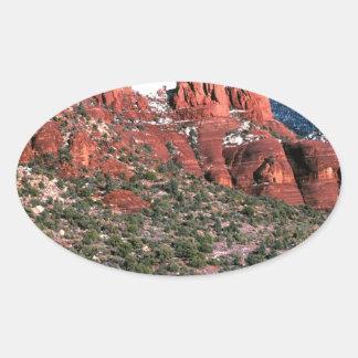 Rocks Red Spires Sedona Arizona Stickers