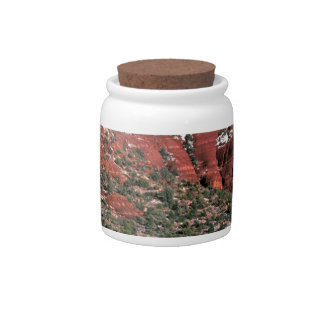 Rocks Red Spires Sedona Arizona Candy Dishes
