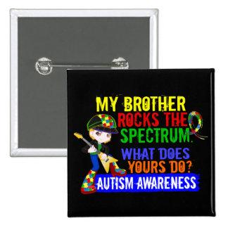 Rocks Spectrum Autism Pins